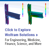 Click to Explore Wolfram Solutions for Engineering, Medicine, Finance, Science, and More